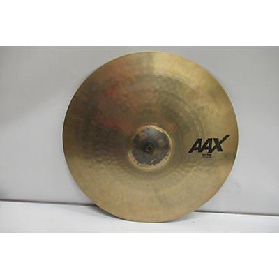 Sabian 2019 21in AAX Thin Ride Cymbal