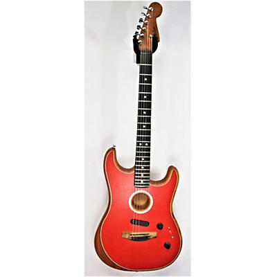 Fender 2019 American Acoustasonic Stratocaster Acoustic Electric Guitar