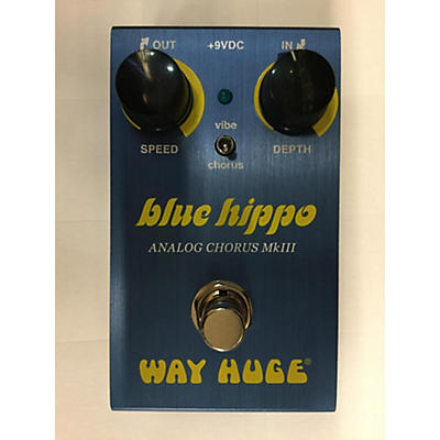 Way Huge Electronics 2019 BLUE HIPPO Effect Pedal