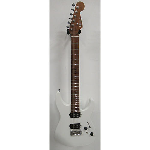 Charvel 2019 DK24 HH Solid Body Electric Guitar SATIN WHITE