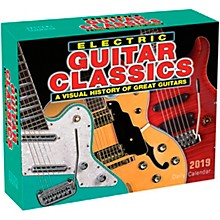 Hal Leonard 2019 Electric Guitar Classics Daily Desk Calendar