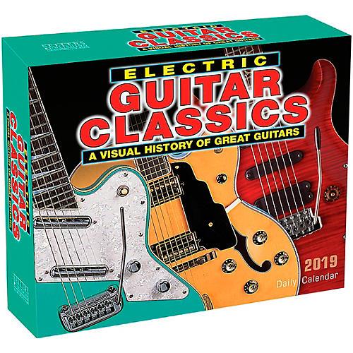 Hal Leonard 2019 Electric Guitar Classics Daily Desk Calendar