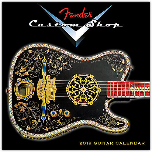 Hal Leonard 2019 Fender Custom Shop Mini Wall Calendar