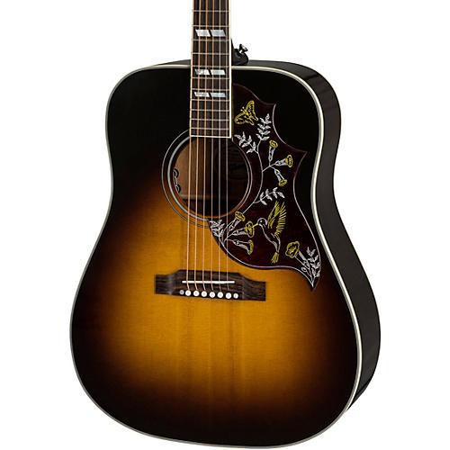gibson 2019 hummingbird custom limited run acoustic electric guitar vintage sunburst musician. Black Bedroom Furniture Sets. Home Design Ideas