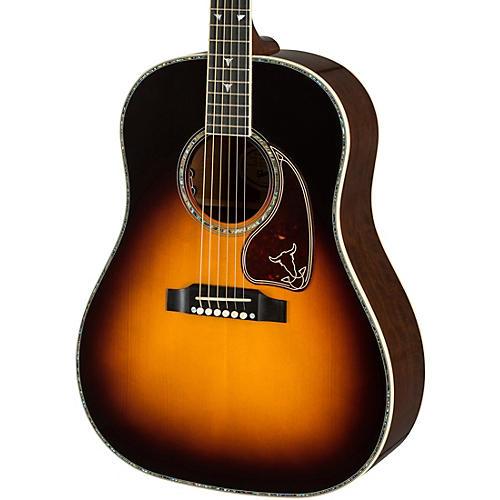 gibson 2019 j 45 montana custom 30th anniversary acoustic electric guitar sunset burst. Black Bedroom Furniture Sets. Home Design Ideas