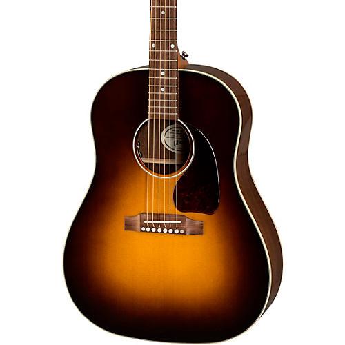 gibson 2019 j 45 studio acoustic electric guitar walnut burst musician 39 s friend. Black Bedroom Furniture Sets. Home Design Ideas