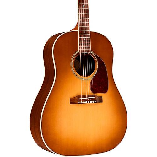 gibson 2019 j 45 walnut custom acoustic electric guitar honey burst musician 39 s friend. Black Bedroom Furniture Sets. Home Design Ideas