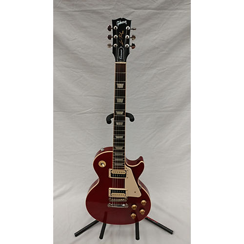 Gibson 2019 Les Paul Classic Solid Body Electric Guitar Red