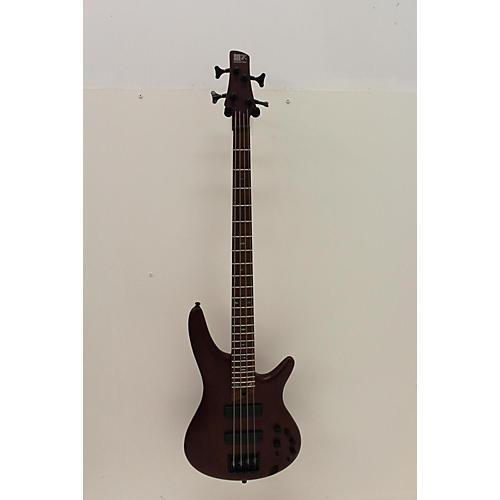 Ibanez 2019 Sr500e Electric Bass Guitar Walnut