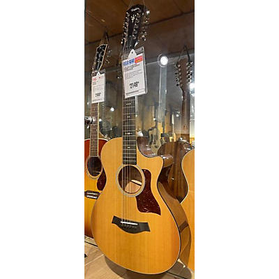 Taylor 2020 552ce 12 String Acoustic Electric Guitar