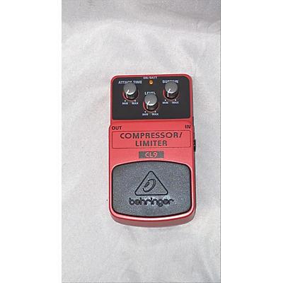 Behringer 2020 CL9 Compressor/Limiter Effect Pedal