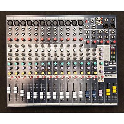 Soundcraft 2020 EFX12 Powered Mixer