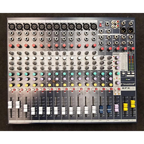 2020 EFX12 Powered Mixer
