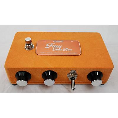 Warm Audio 2020s FOXY TONE BOX Effect Pedal