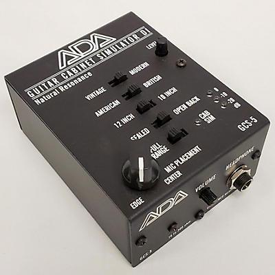 ADA Signal Processors 2020s Guitar Cabinet Simulator Effect Pedal