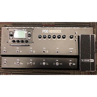 Line 6 2020s Pod HD500X Amp Modeler Effect Processor
