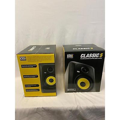 KRK 2021 Classic 5 Powered Monitor