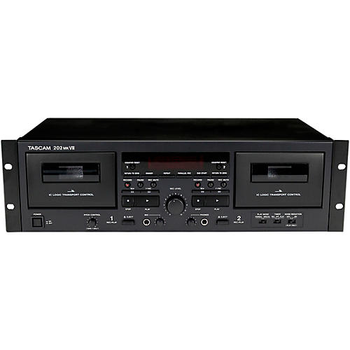 Tascam 202MKVII Double Cassette Deck With USB Port