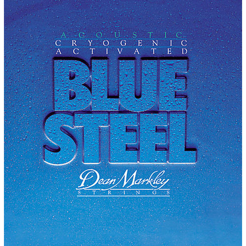 Dean Markley 2033 TLT Blue Steel Cryogenic Acoustic Guitar Strings