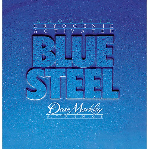 Dean Markley 2037 TMD Blue Steel Cryogenic Acoustic Guitar Strings