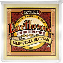 Ernie Ball 2043 Earthwood 80/20 Bronze Silk and Steel Acoustic Guitar Strings