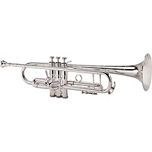 Open Box King 2055 Silver Flair Series Bb Trumpet