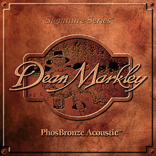 Dean Markley 2068A PhosBronze Medium Acoustic Guitar Strings