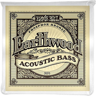 Ernie Ball 2070 Earthwood Acoustic Bass Strings