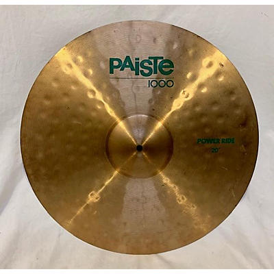 Paiste 20in 1000 Series Power Ride Cymbal