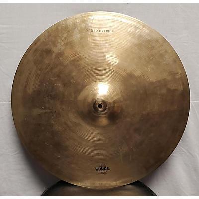 """Wuhan Cymbals & Gongs 20in 20"""" MED-HEAVY RIDE Cymbal"""