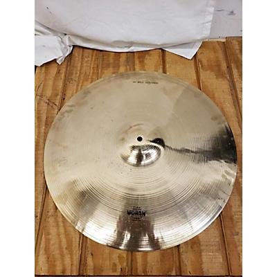 """Wuhan Cymbals & Gongs 20in 20"""" Med Heavy Ride Cymbal"""