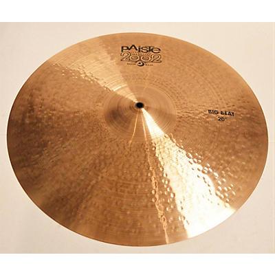 Paiste 20in 2002 BIG BEAT CRASH Cymbal
