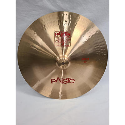 Paiste 20in 2002 China Cymbal