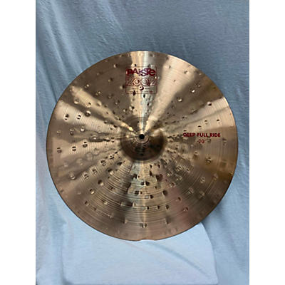 Paiste 20in 2002 Deep Full Ride Cymbal