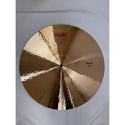 Paiste 20in 2002 Medium Crash Cymbal