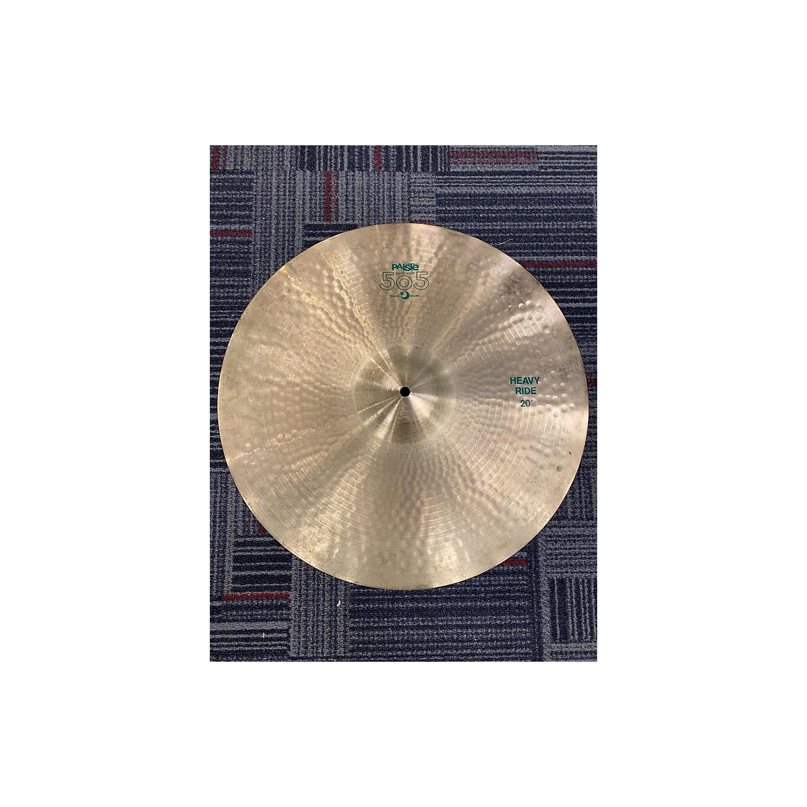 Paiste 20in 505 Heavy Ride Cymbal