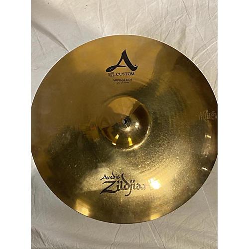 Zildjian 20in Avedis A CUSTOM MEDIUM RIDE Cymbal 40