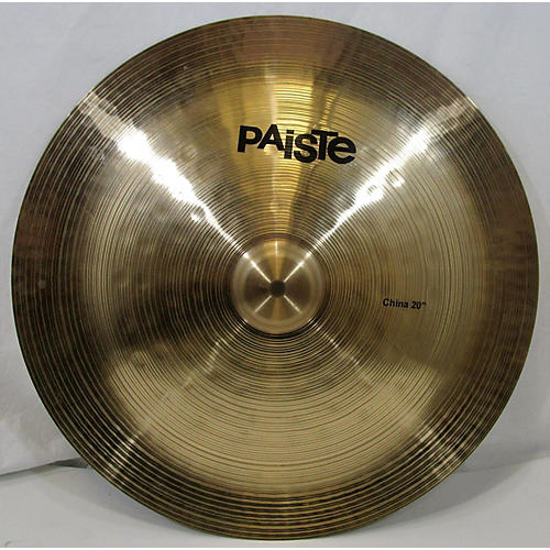 Paiste 20in China Cymbal 40