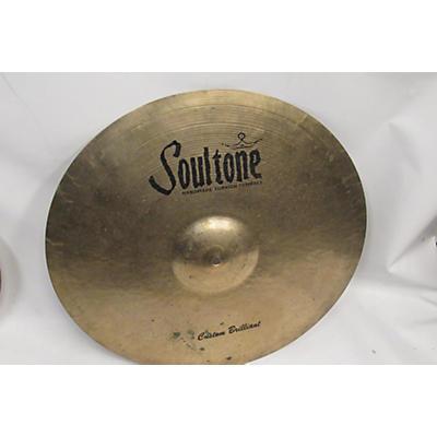 Soultone 20in Custom Brilliant Ride Cymbal