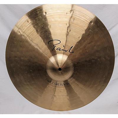 Paiste 20in Dark Crash Ride Cymbal