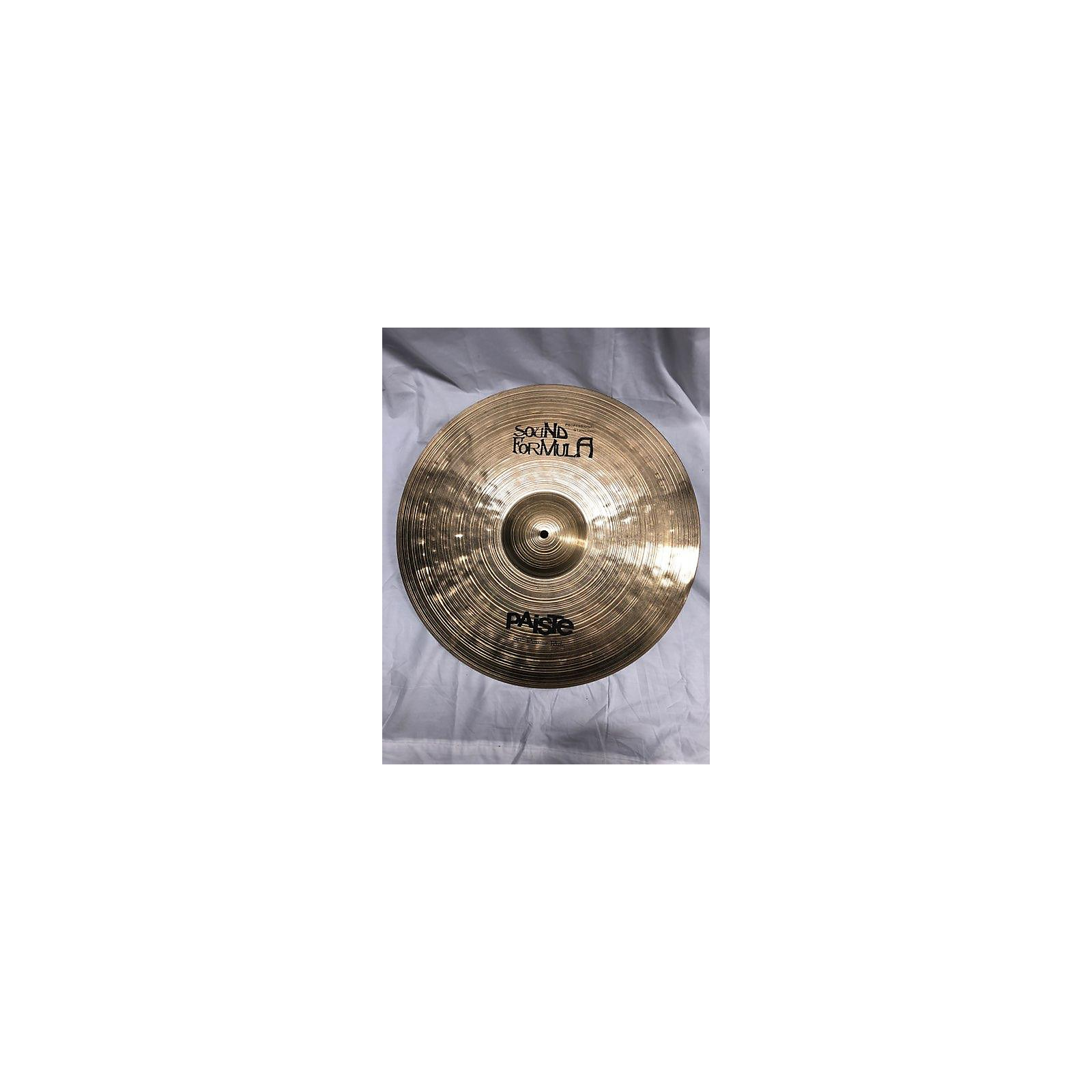 Paiste 20in Formula 602 Classic Sounds Paperthin Crash Cymbal