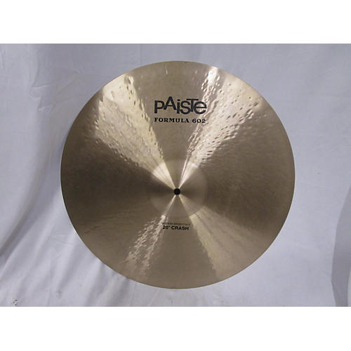 Paiste 20in Formula 602 Modern Dynamic Crash Cymbal 40