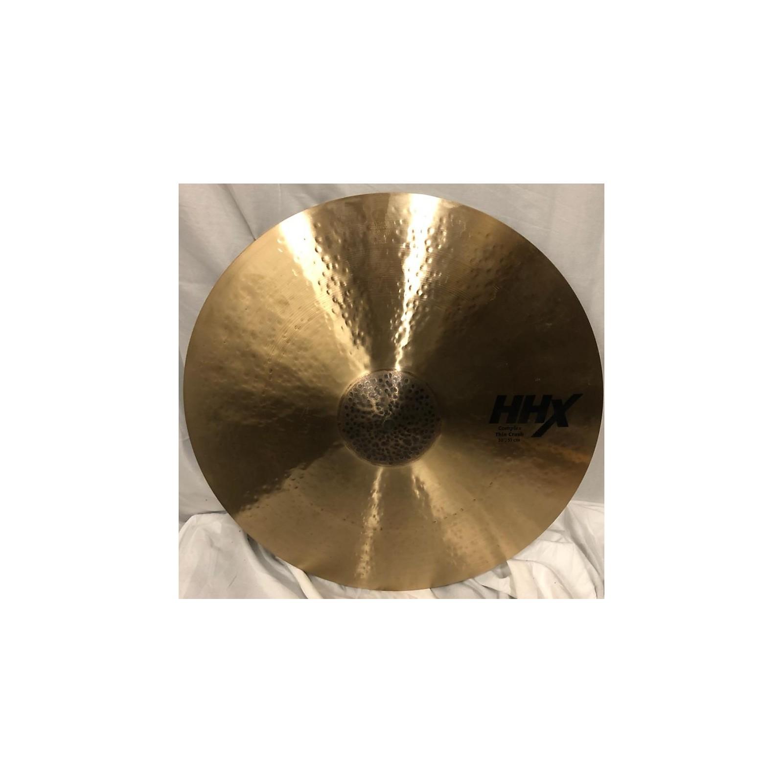 Sabian 20in HHX Complex Thin Crash Cymbal