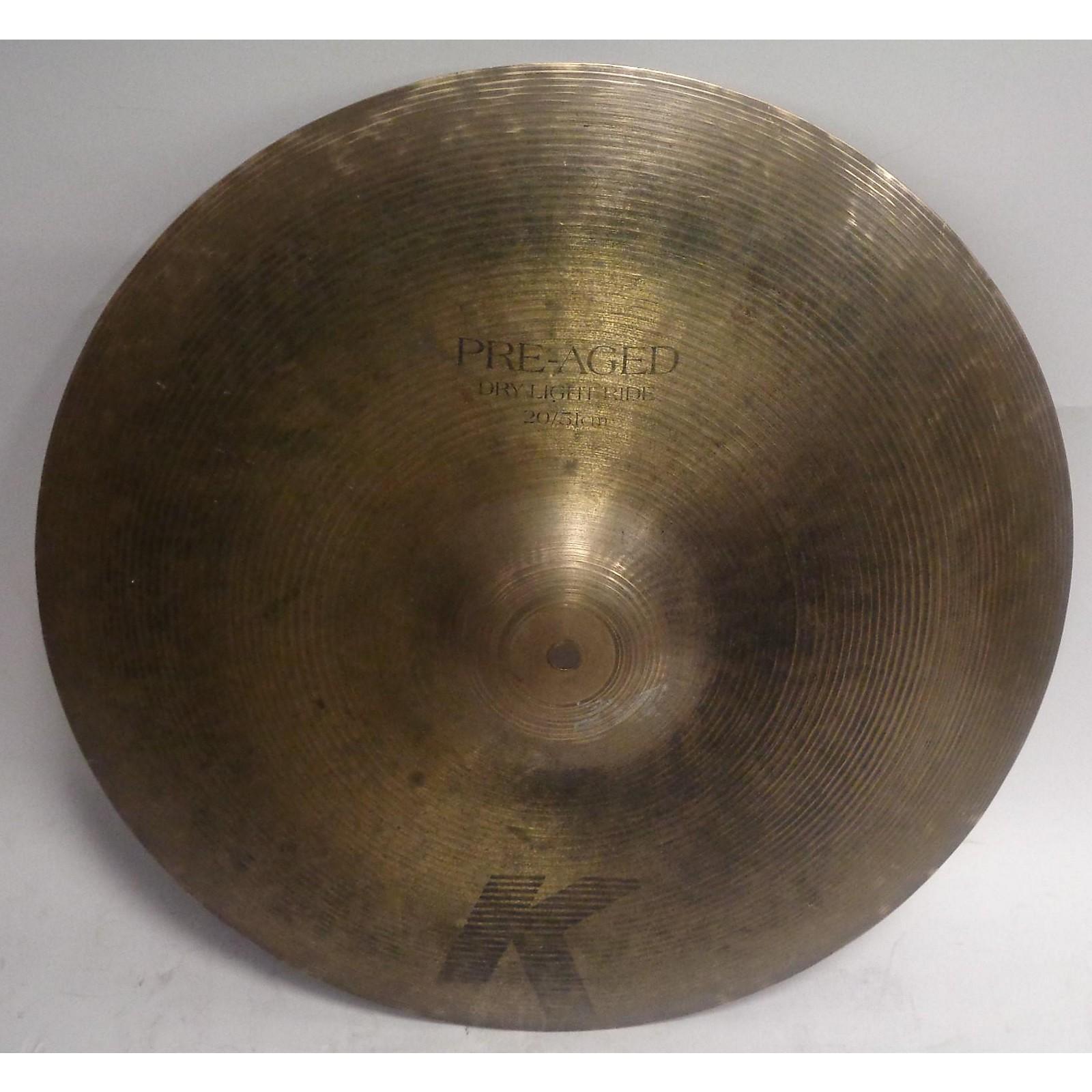 Zildjian 20in K Pre Aged Dry Light Ride Cymbal