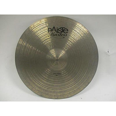 Paiste 20in Masters Dry Ride Cymbal