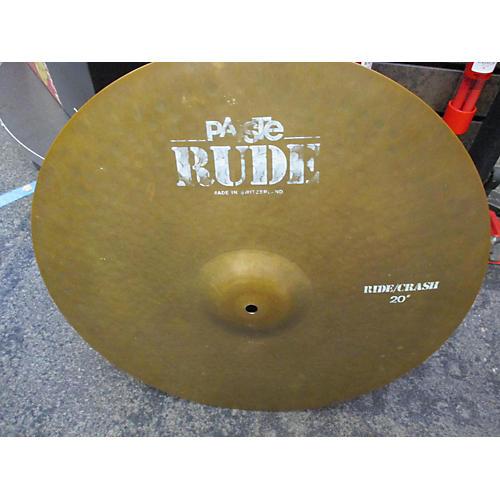 20in Rude Classic Crash Ride Cymbal