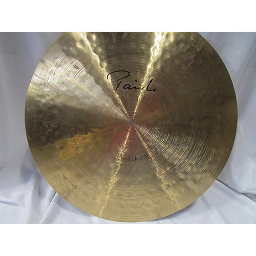 Paiste 20in SIGNATURE FLAT RIDE 20
