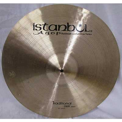 Istanbul Agop 20in Traditional Dark Crash Cymbal