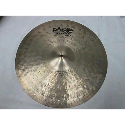 Paiste 20in Twenty Dark Crisp Masters Cymbal