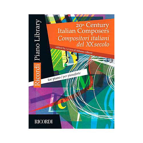 Ricordi 20th Century Italian Composers For Piano